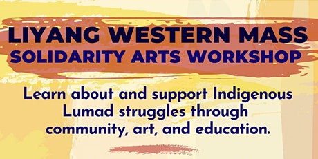 Solidarity Art Workshop: Support Lumad Land Defenders! tickets