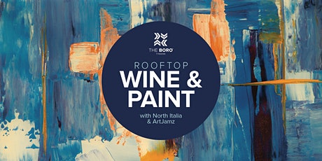 Rooftop Wine & Paint with North Italia and ArtJamz tickets