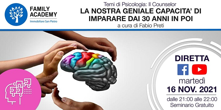 Immagine LA NOSTRA GENIALE CAPACITA' DI IMPARARE DAI 30 ANNI IN POI