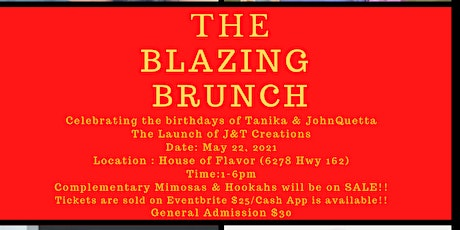 The Blazing Brunch tickets