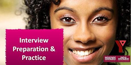 Interview Preparation & Practice tickets