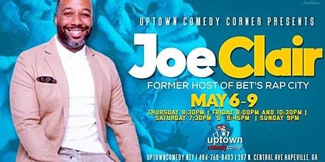 Online Event ONLY:  Comedian Joe Clair tickets