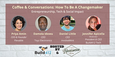Coffee & Conversations: How to be a Changemaker tickets