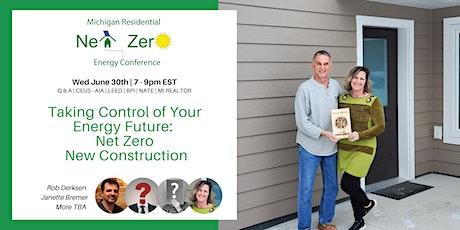 Homeowner Round Table - Net Zero New Construction -  Free CE Webinar tickets