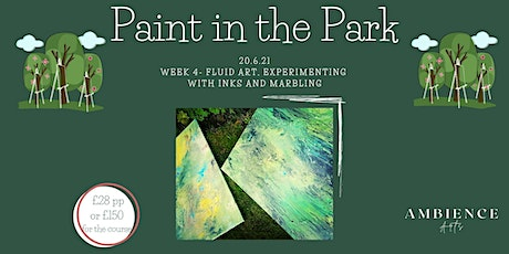 Paint in the Park- Walsall Fluid Art, Marbling and Inks tickets