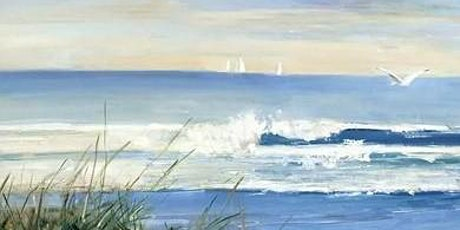 Paint and Sip at Home 'Seaside' tickets