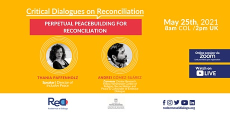 Perpetual Peacebuilding for Reconciliation tickets