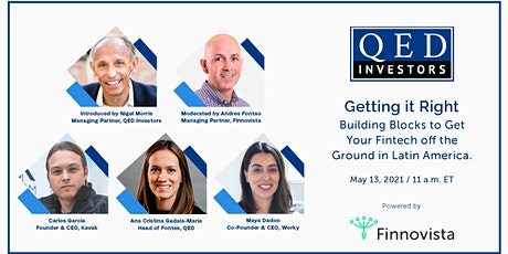Getting it right: building blocks to get your Fintech off the ground tickets