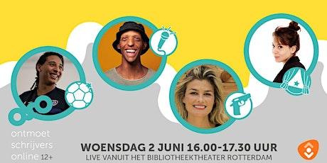 Ontmoet Schrijvers Online (12+) tickets