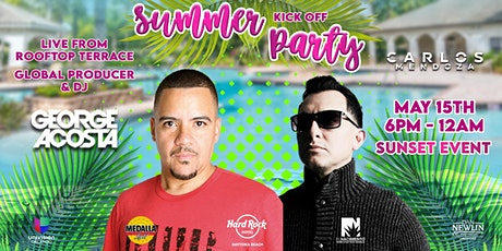Kick-Off Summer Sunset Terrace Party tickets
