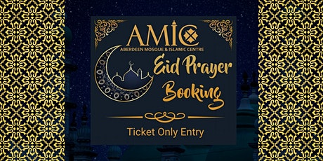 EID at AMIC Based on Moonsight Either 12 May or 13 May tickets