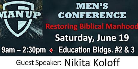 Man Up Men's Conference with Nikita Koloff tickets