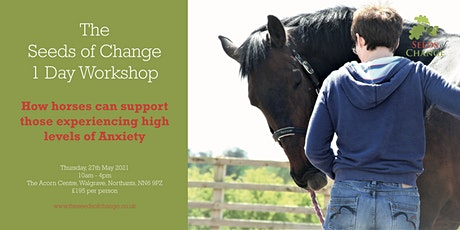 How horses can support those experiencing high levels of Anxiety tickets