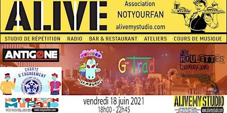 Fête de la Musique Jour 1 ALIVE My STUDIO billets
