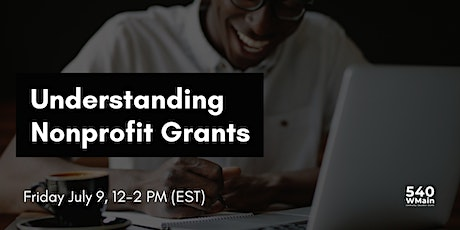 Understanding Nonprofit Grants tickets
