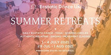 Ecstatic Dance Summer Retreat tickets
