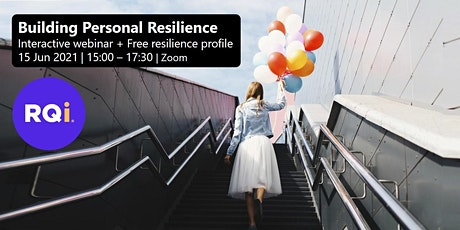 Building Personal Resilience Webinar, 15-Jun 2021 tickets