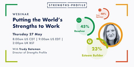 Putting the World's Strengths to Work tickets