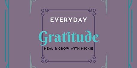 Everyday Gratitude tickets