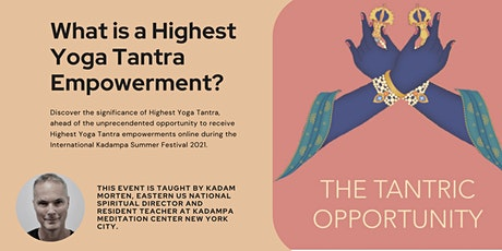 The Tantric Opportunity with Kadam Morten tickets