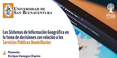 Los Sistemas de Información Geográfica en la toma de decisiones entradas