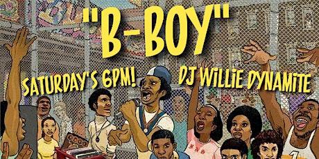 """B-BOY!"" (80's, 90's & early 2000's Hip Hop) tickets"