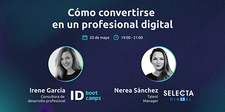 Cómo convertirse  en un profesional digital - Road map boletos