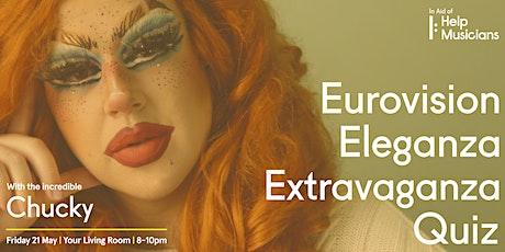 Eurovision Eleganza Extravaganza Quiz tickets