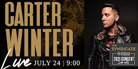 Carter Winter LIVE tickets