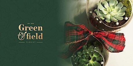 Christmas Bauble Terrarium Workshop @ Butlers, Kirkstall Forge tickets