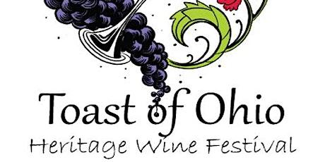 Toast of Ohio Wine Festival tickets