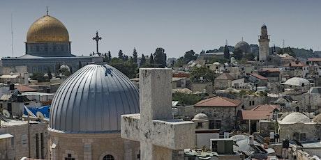 trois religions monothéistes dans le conflit israélo-palestinien billets