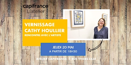 Vernissage à l'Atelier // CATHY HOULLIER tickets