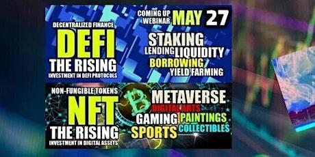 Emerging DeFi  & NFT WORLD - INVESTOR eMEET tickets