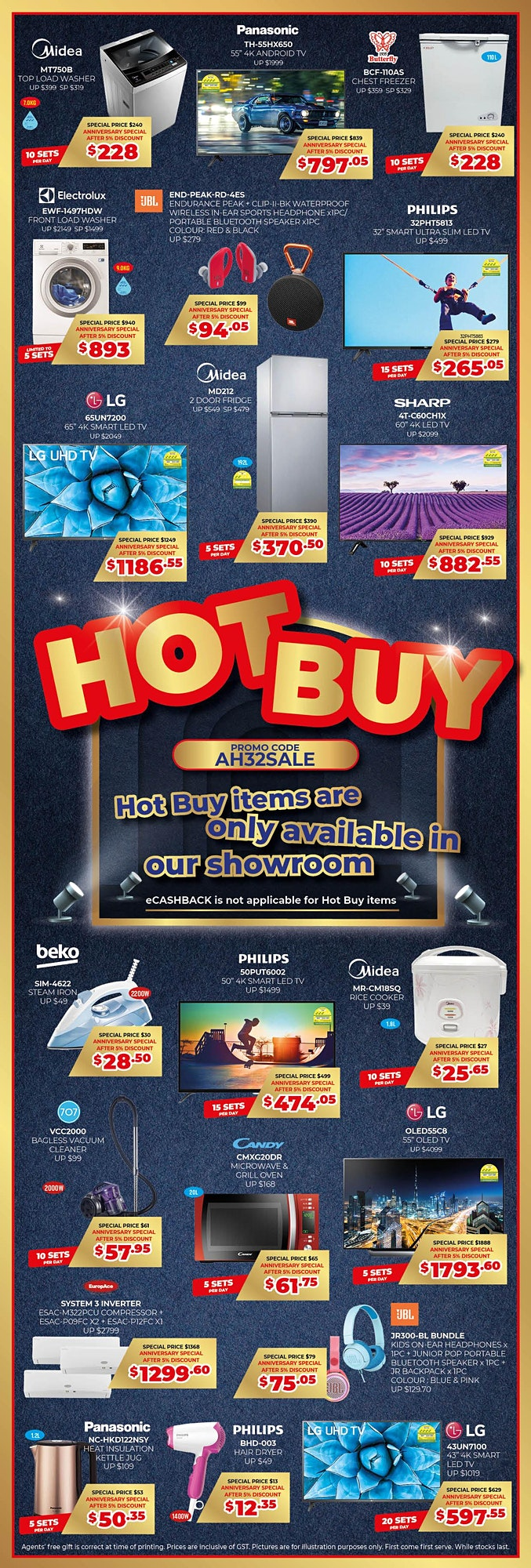 Audio House 32nd Anniversary Sale image