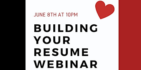 Building Your Resume Webinar - with Gail Tistra tickets