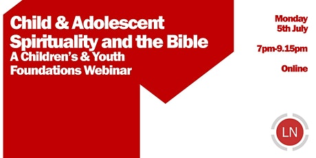 Child & Adolescent Spirituality & The Bible tickets