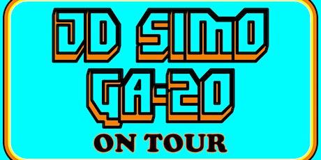 JD Simo & GA-20 tickets