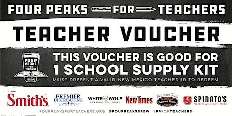 Four Peaks for Teachers School Supply Kit Pickup - Farmington, NM tickets