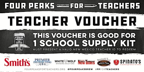 Four Peaks for Teachers School Supply Kit Pickup - Albuquerque West tickets