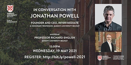 In Conversation with: Jonathan Powell tickets
