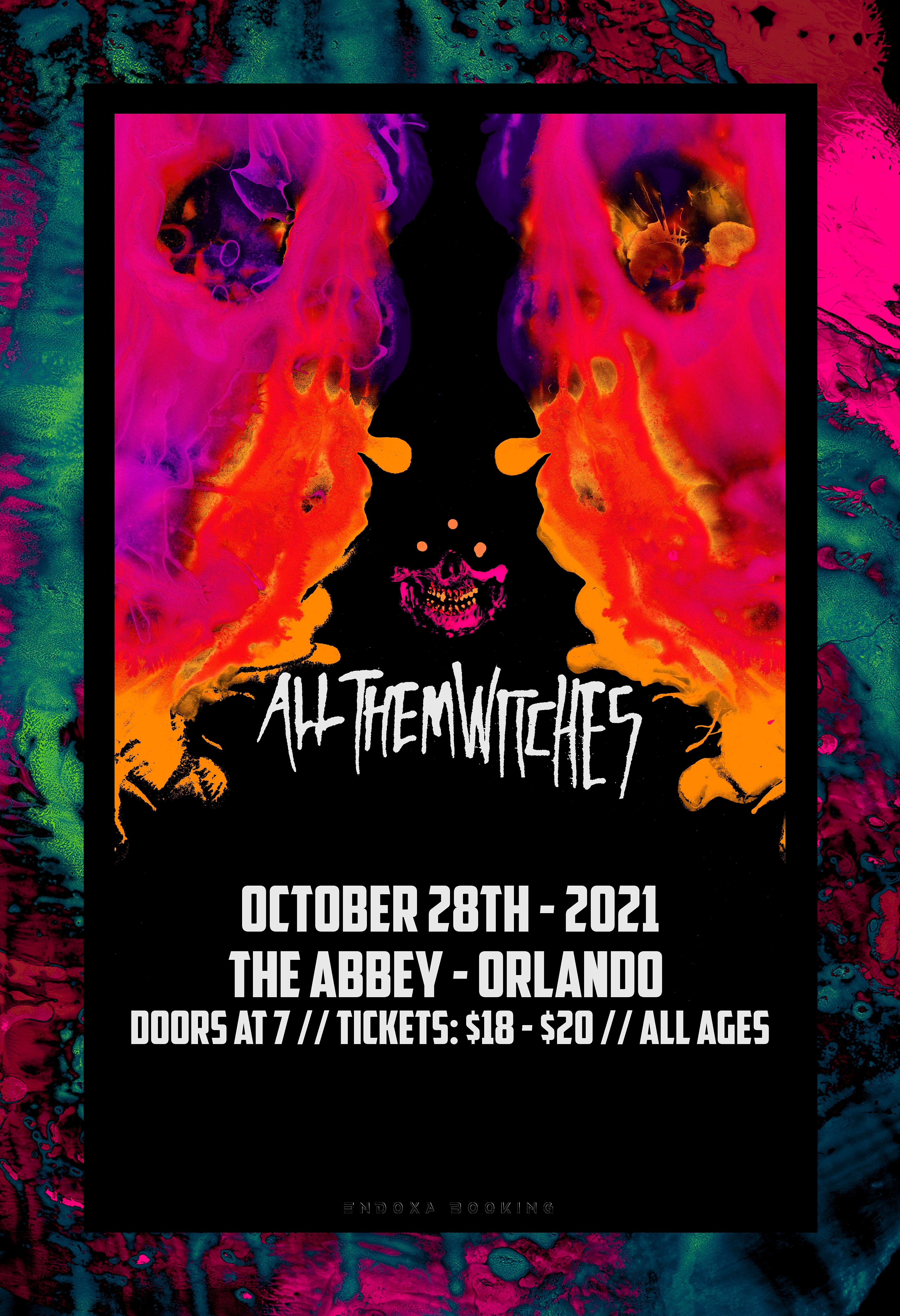 All Them Witches in Orlando at the Abbey