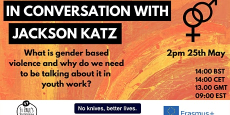 Webinar - Jackson Katz on gender based violence tickets