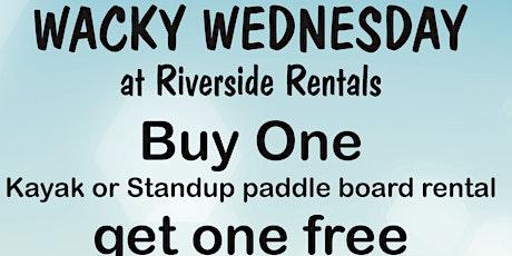 Wacky Wednesday tickets