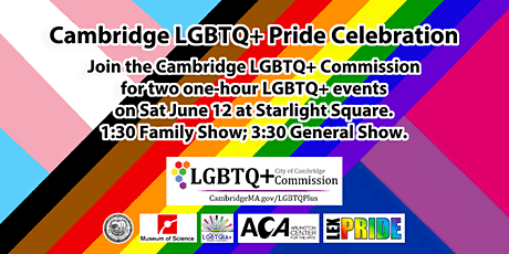 Cambridge LGBTQ+ Pride Celebration tickets