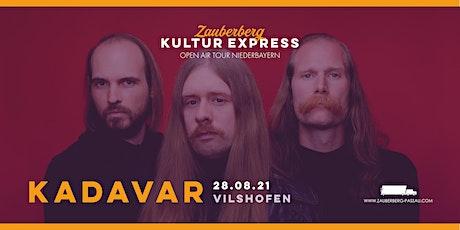 Kadavar • Vilshofen • Zauberberg Kultur Express Tickets