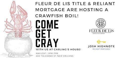 Fleur De Lis Title & Reliant Mortgage Crawfish Boil! tickets