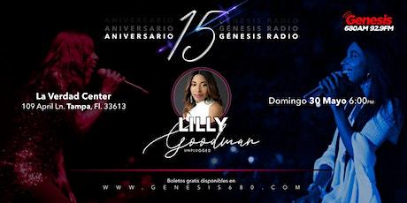 Lilly Goodman Concierto Unplugged | Aniversario 15 Génesis Radio tickets