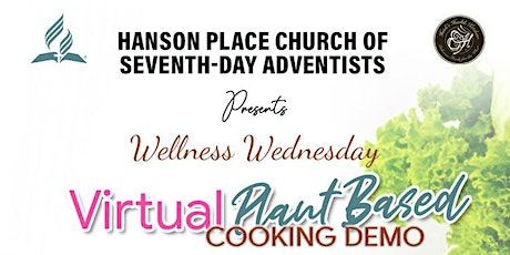 Plant-Based Cooking Demo (Virtual) tickets