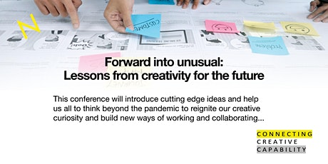 Forward into unusual – lessons from creativity in planning for the future biglietti